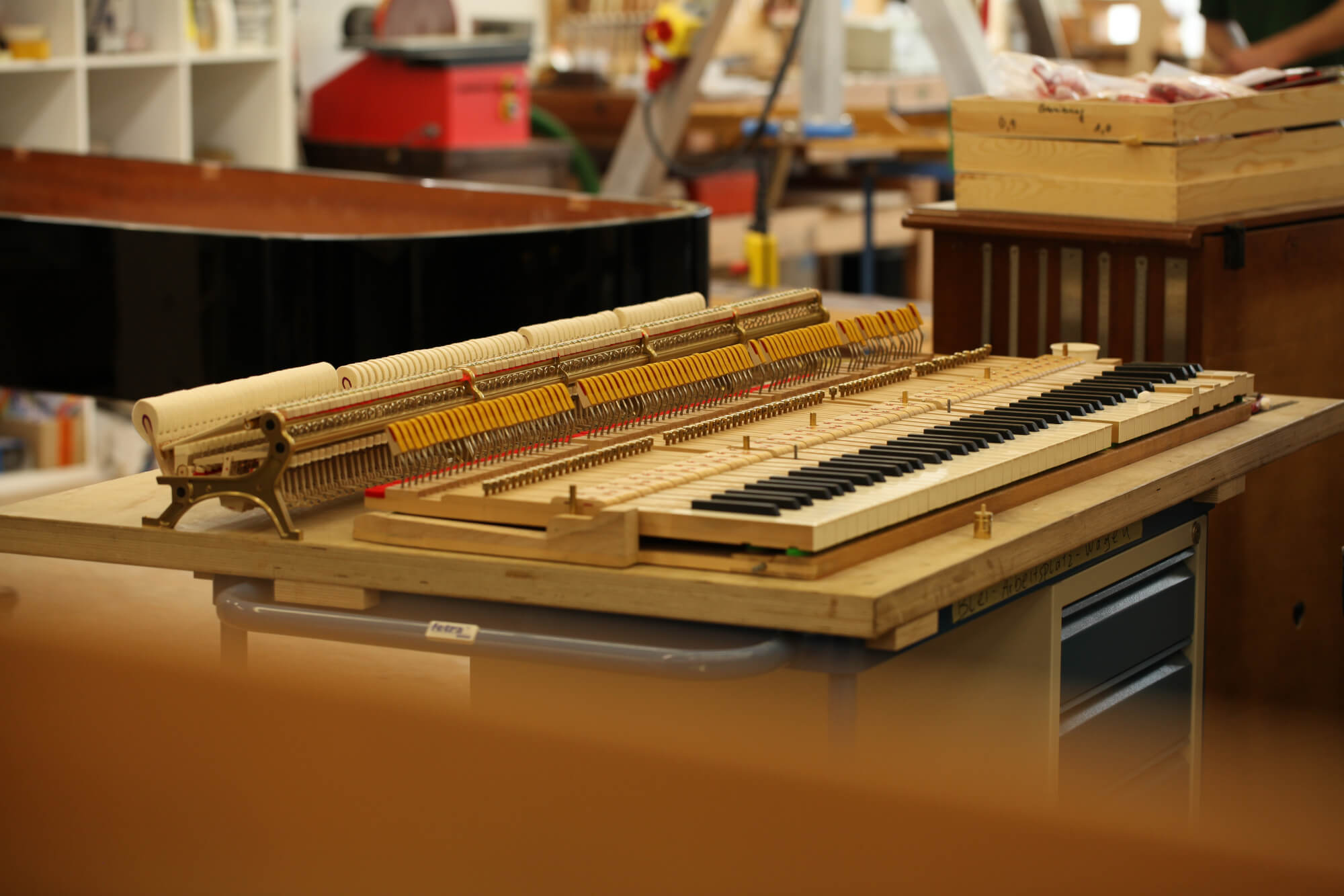Steinway Werkstatt Klangmanufaktur